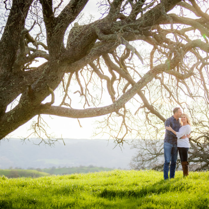 Mount Diablo Engagement Shoot. Green!