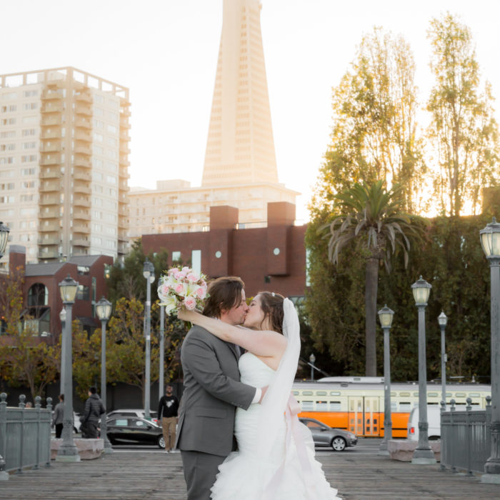 San Francisco Baker Beach Wedding and City Tour